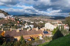 Malaga cityscape Stock Image