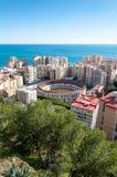 Malaga cityscape Royalty Free Stock Images