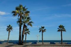 Malaga, Costa del Sol, Andalusia, Spanje royalty-vrije stock fotografie
