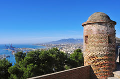 Malaga, Espagne Photos stock