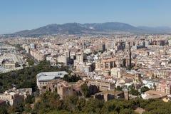 Malaga. Espagne Photographie stock libre de droits