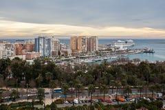 Malaga Espagne Photographie stock