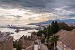 Malaga Espagne Photos stock