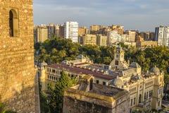 Malaga Espagne Image libre de droits