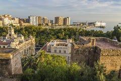 Malaga Espagne Images libres de droits