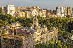 Malaga Espagne Image stock
