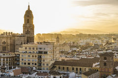 Malaga Espagne Photographie stock libre de droits