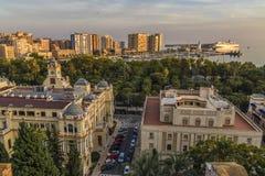 Malaga Espagne Photo libre de droits