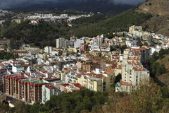 Malaga, Expanded Town Stock Photos