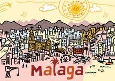 Malaga Royalty Free Stock Photography