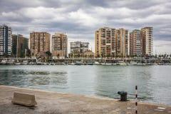 Free Malaga Harbor Stock Photography - 48527302