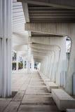 Malaga Harbor Royalty Free Stock Photography