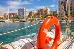 Malaga harbor. Malaga, andalusia, Spain Stock Images