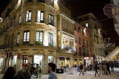 Malaga, Hiszpania - Obrazy Royalty Free