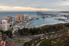 malaga Hiszpanii Fotografia Stock