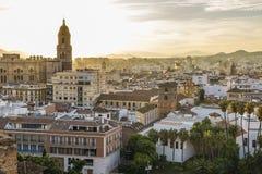 malaga Hiszpanii Zdjęcie Royalty Free