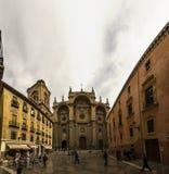 Malaga katedra Obrazy Stock