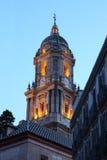 Malaga katedra, Hiszpania Zdjęcia Stock