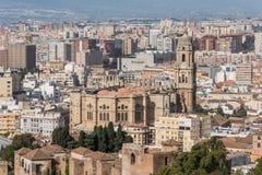 Malaga katedralny Hiszpanii Zdjęcie Stock