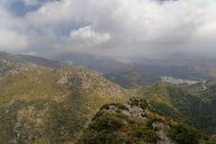 Malaga krajobraz Obraz Royalty Free