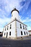 Malaga lighthouse Stock Image