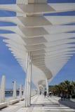 Malaga main boardwalk Stock Photos