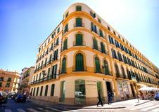 MALAGA - MAJ 15: Pablo Picasso Fundation Birthplace Museum I Fotografering för Bildbyråer