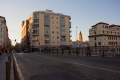 Malaga. Malaga landscape. Panoramic view. Malaga, Costa del Sol, Andalusia, Spain. Picture taken – 17 december 2017 Stock Photography