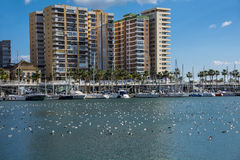 Malaga Marina Stock Photography