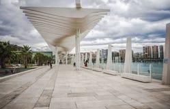 Malaga miasto zdjęcia stock