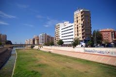 Malaga moderne Images libres de droits
