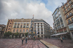 Malaga Old Town, Spain Stock Photography