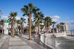 Malaga port Royalty Free Stock Image