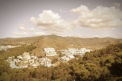 Malaga retro Royalty Free Stock Photo
