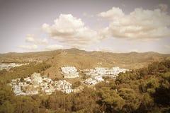 Malaga retro Royalty Free Stock Photo