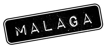 Malaga rubber stamp Stock Images