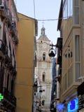 Malaga-San Juan gata Royaltyfri Bild