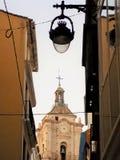 Malaga-San Juan gata Royaltyfria Foton