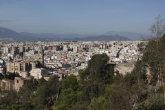 Malaga scenery Stock Image