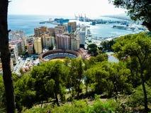 Malaga, Spagna fotografie stock libere da diritti