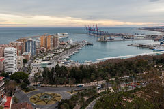 Malaga, Spain Fotografia de Stock