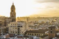 Malaga, Spain Imagem de Stock Royalty Free