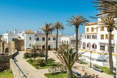 Spanish touristic village of Tarifa, Spain Royalty Free Stock Photography