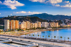 Malaga, Spain Beach Stock Photography