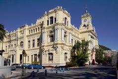 Malaga Spain city hall Building Stock Photo
