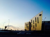Malaga Spain. Cool building in Spain Stock Photos