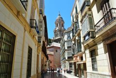 Malaga, Spain - July 2014 Stock Image