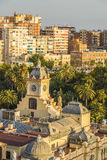 Malaga, Spain. Malaga is a municipality, capital of the Province of Málaga, in the Autonomous Community of Andalusia, Spain Royalty Free Stock Images