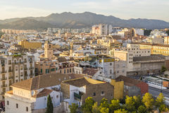 Malaga, Spain. Malaga is a municipality, capital of the Province of Málaga, in the Autonomous Community of Andalusia, Spain Stock Images