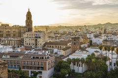 Malaga, Spain. Malaga is a municipality, capital of the Province of Málaga, in the Autonomous Community of Andalusia, Spain Royalty Free Stock Photo